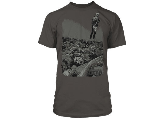 Футболка The Walking Dead #100 Premium Tee мужская серая M