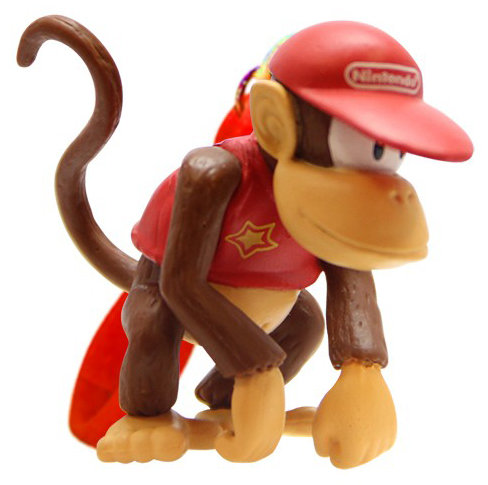 Брелок Super Mario:Diddy Kong