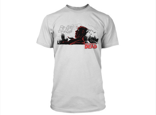 Футболка The Walking Dead BLAM Premium Tee мужская серая L