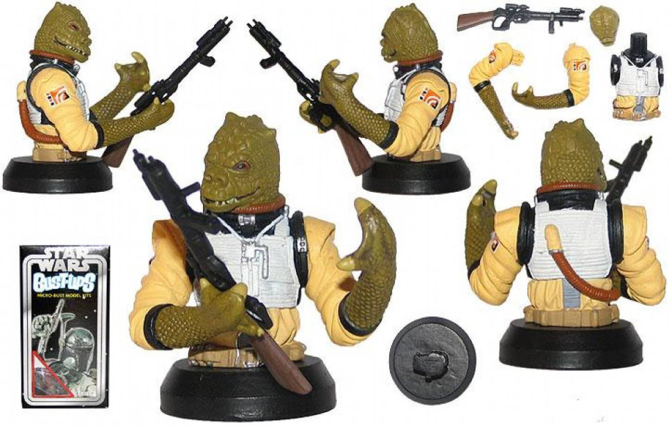 Фигурка Star Wars Bust-Up: Bossk (Bounty Hunter)