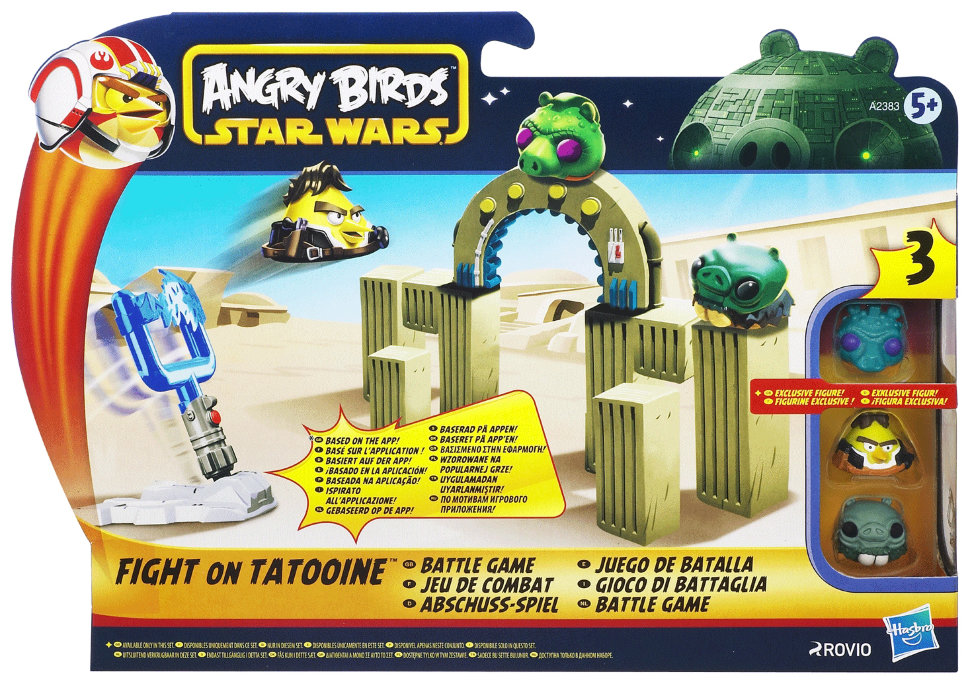 Настольная игра Angry Birds Star Wars Fight on Tatooine