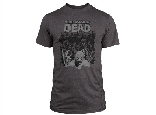 Футболка The Walking Dead Herd Premium Tee мужская серая S