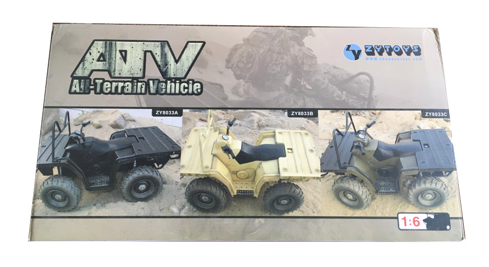Модель квадроцикла ZyToys ATV All Terrain Vehicle 1:6