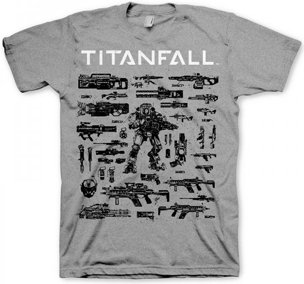 Футболка Titanfall Choose your weapon M