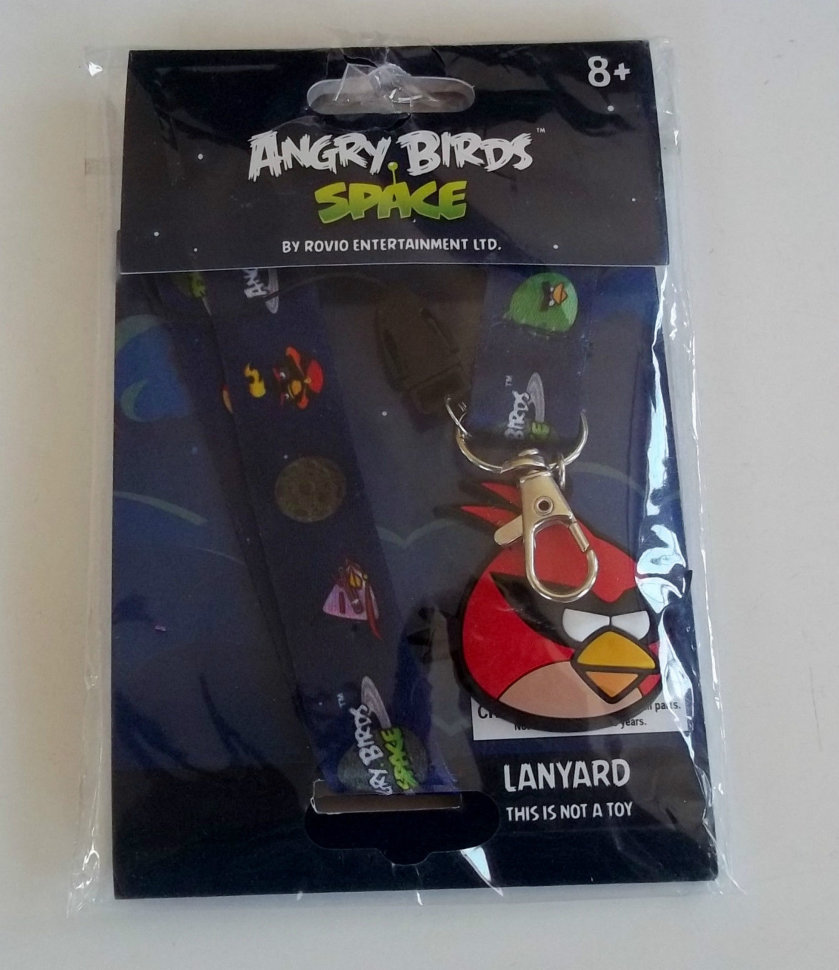 Брелок Angry Birds Space (комплект)