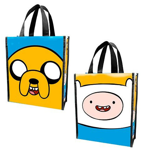 Сумка Adventure Time Finn and Jake Small Recycled Shopper Tote малая