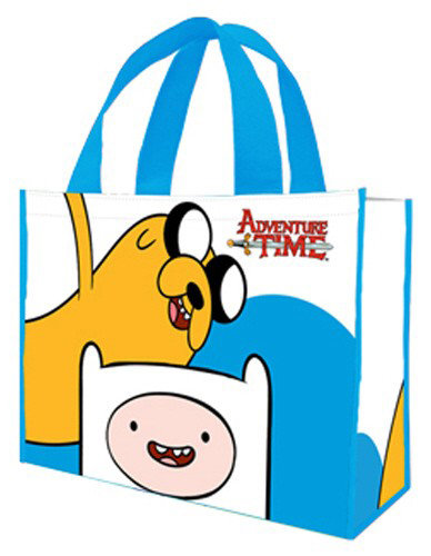 Сумка Adventure Time Finn and Jake Large Recycled Shopper Tote большая