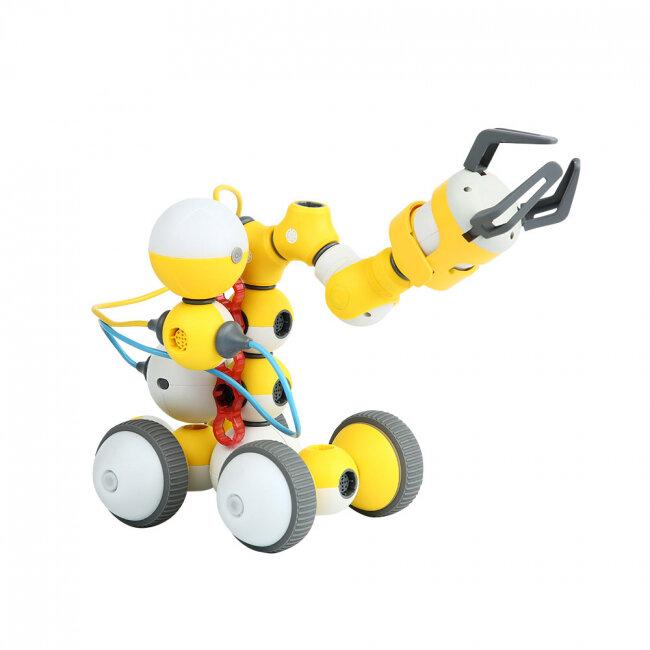 Детский конструктор-робот в наборе 12+ в 1 (Mabot C: Shenzhen Bell Creative) купить в Москве | Интернет-магазин 108 Зайцев | 108za.ru