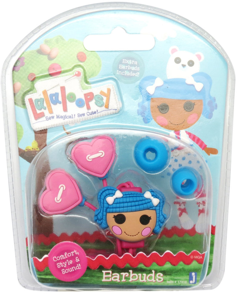 Наушники Lalaloopsy Hearts with Blue Character
