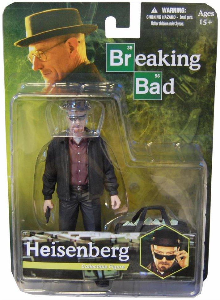 Фигурка Во все тяжкие Breaking Bad Heisenberg